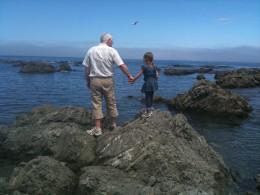 Granddad and Charli