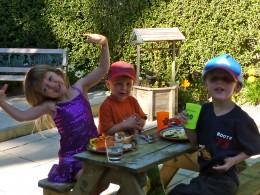 Charli, Hawk and Hayden