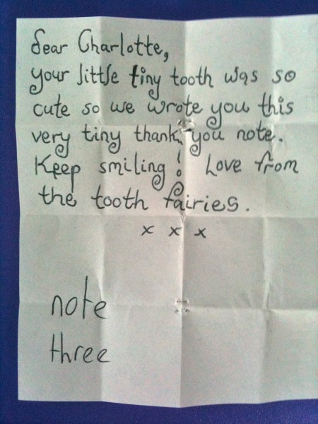 note three