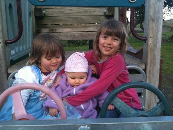 Sophie, Alice & Charlotte