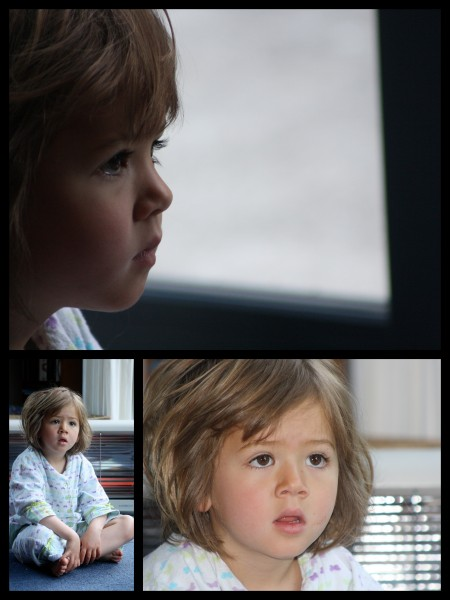 Sophie watching kids TV