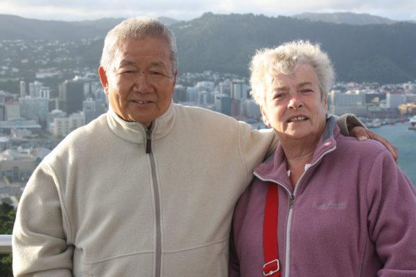 Chinese Grandma & Granddad in Wellington