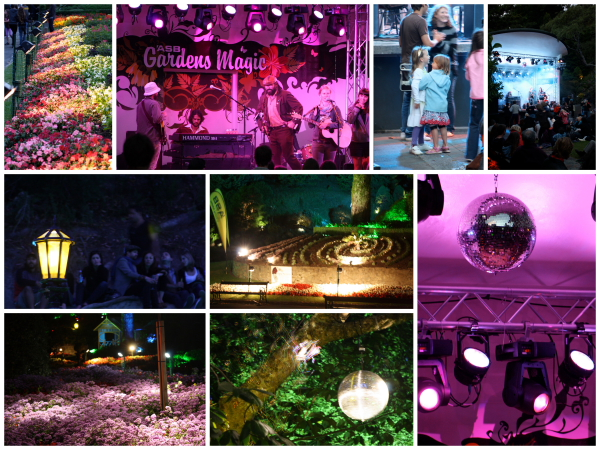 Summer concerts in Welly Botanical Garden