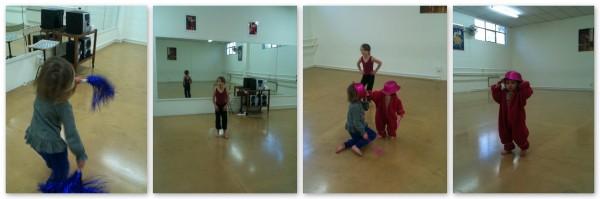 Dance studio play
