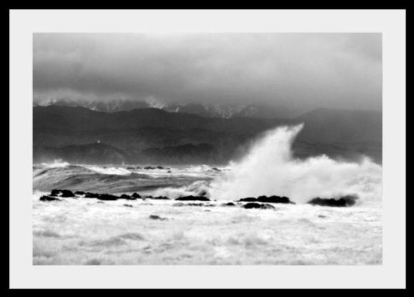 Wild Cook Strait waves