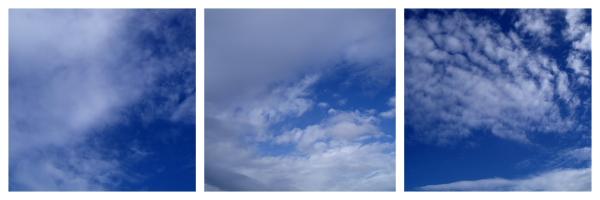 Sky at Lyall Bay by Charlotte
