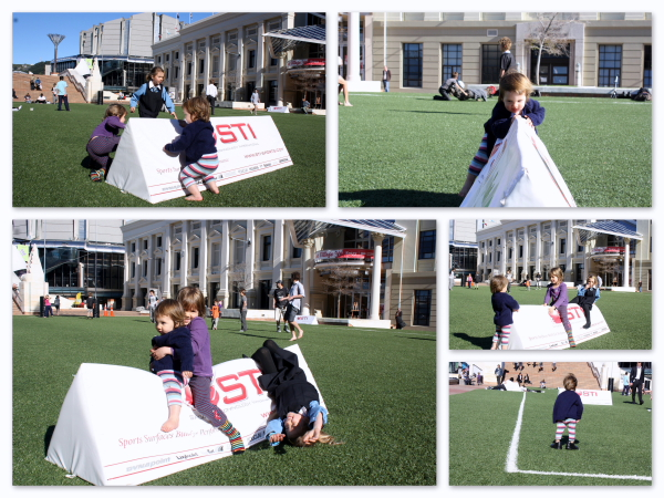 RWC 2011 Civic Square play-zone