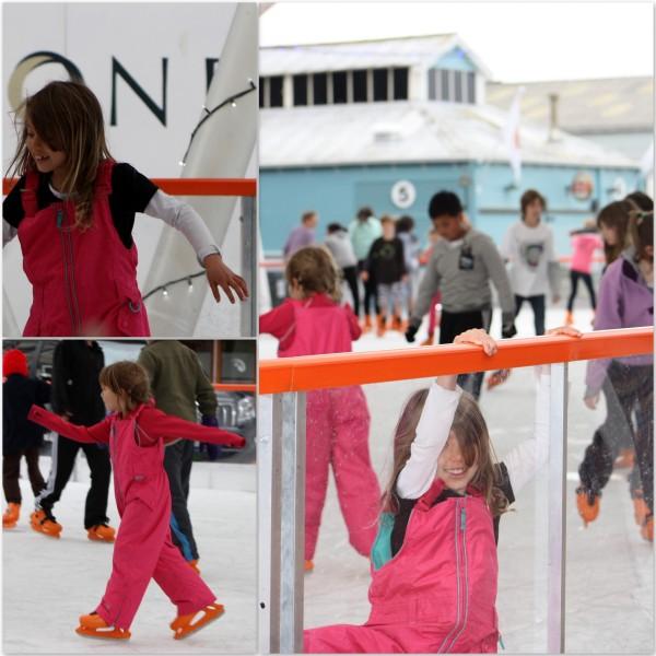 Wellington temporary ice rink