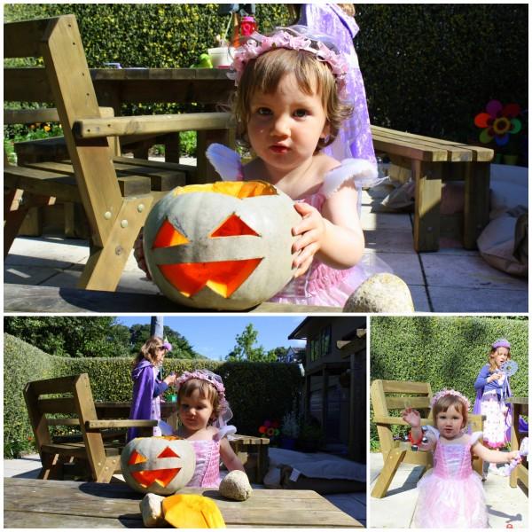 Alice loved the pumpkin