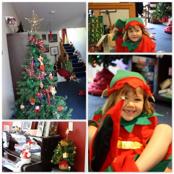 Happy elf Sophie