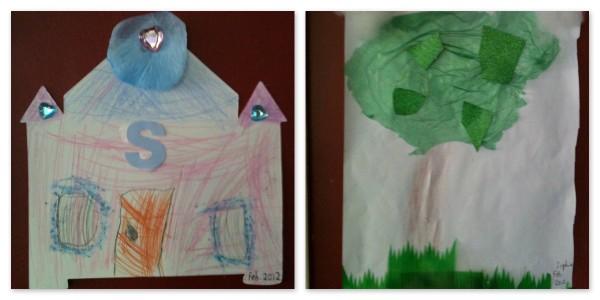 Sophie's artwork