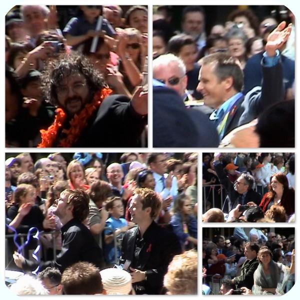 Return of the King premier 2003 Wellington