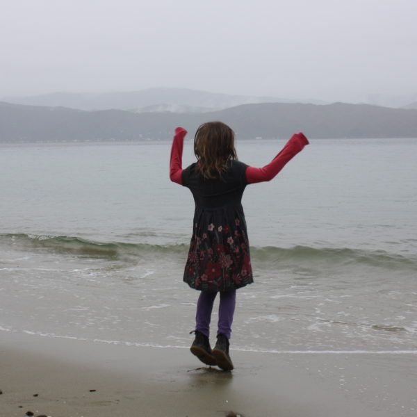 Scorching Bay in the rain