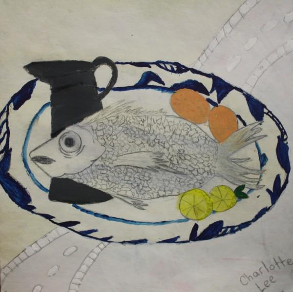 Charlotte's artwork - at age 8