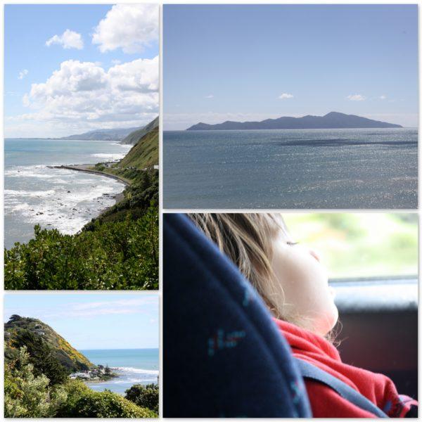 Driving up the Kapiti Coast