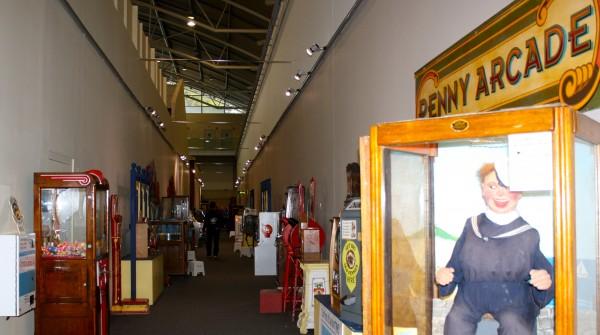 Penny Arcade at Milestones Museum, Basingstoke, Hampshire