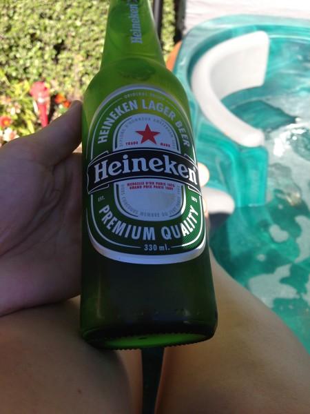 Beer & spa.. then I'll hang the washing :)