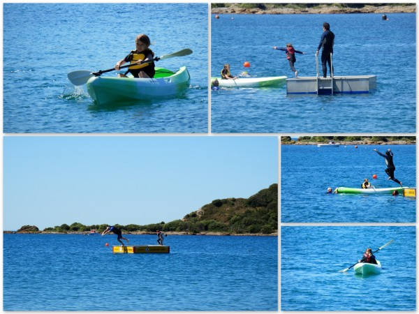 Kayaking at Island Bay
