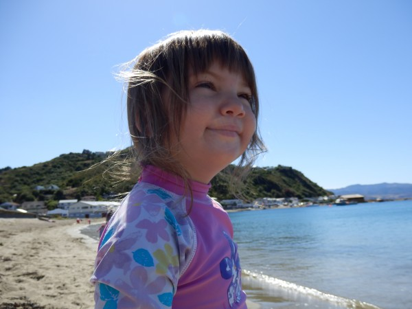 Alice at Island Bay