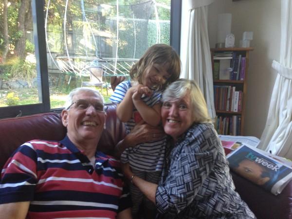 Granddad, Alice & Grandma