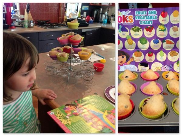 Baking with Dora