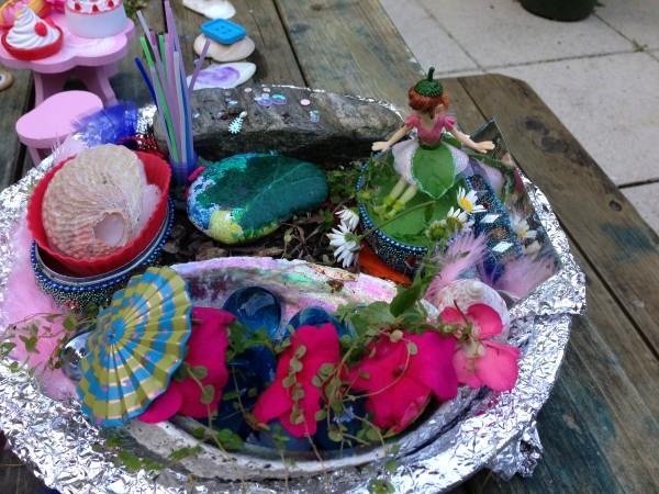 Alice's fairy garden