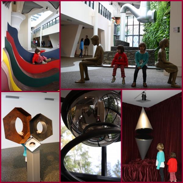 Sculptureillusion Gallery at Puzzling World Wanaka