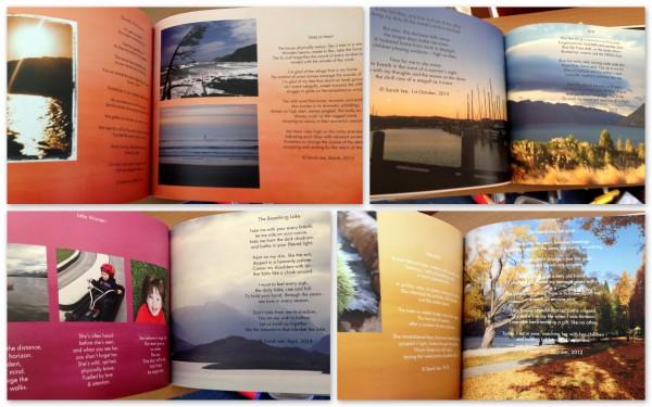 Photo poetry book