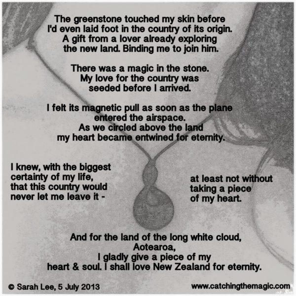 Greenstone Skin Poem