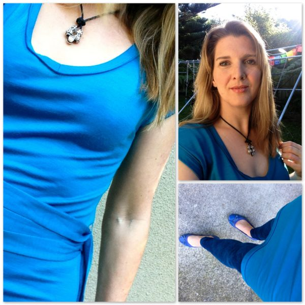 Blue dress from Icebreaker