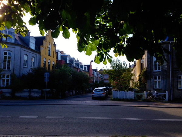 COPENHAGEN RESIDENTIAL STREET SCENE