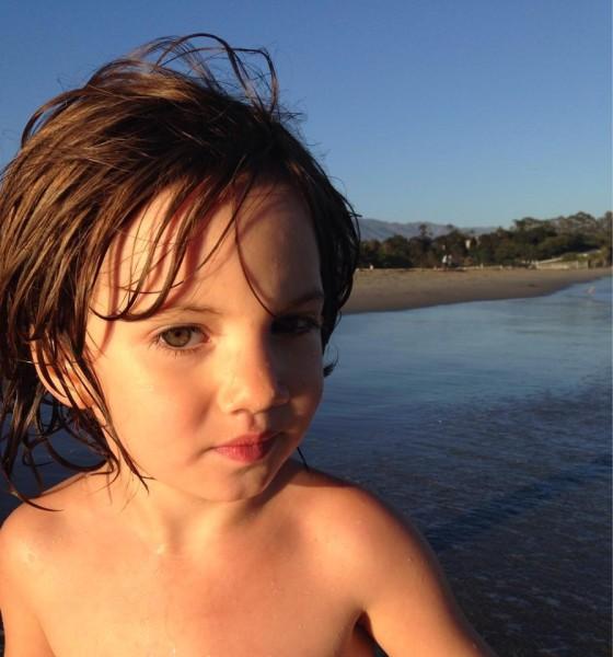 Portait on Santa Barbara beach