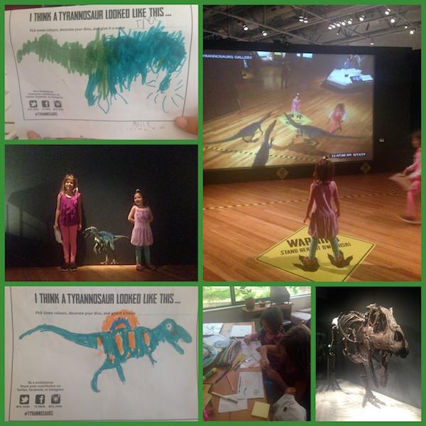 T-Rex exhibition