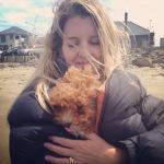 Cuddles in the wind