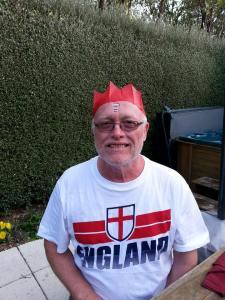 Michael, the 'crazy Englishman'!