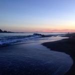 Sunset at Island Bay