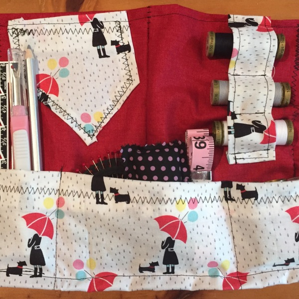 Charlotte's sewing organiser