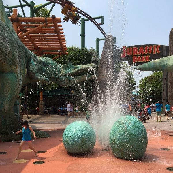 Jurassic Park, Universal Studios, Sentosa Island, Singapore