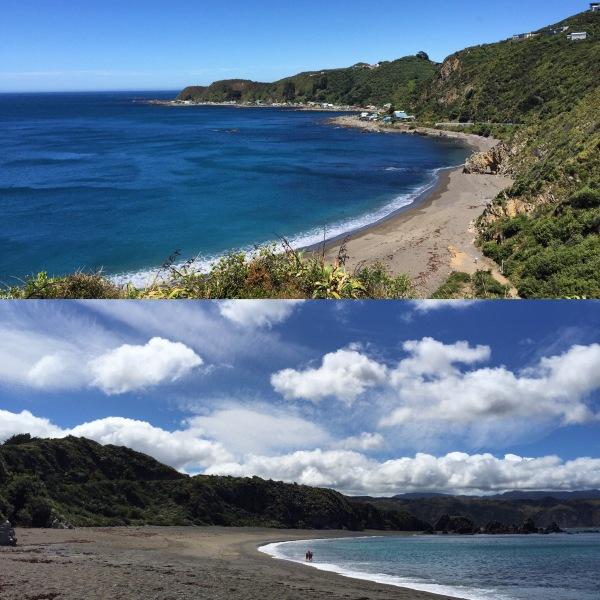 Beautiful Breaker Bay, Wellington.