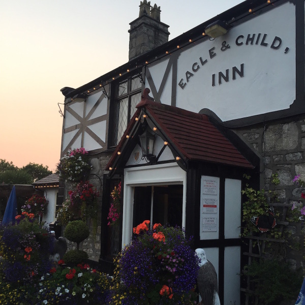 The lovely Eagle & Child Inn, Prestatyn