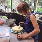 Baking Birthday cake